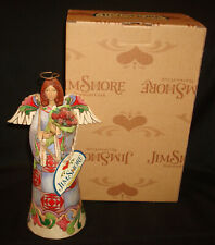 2011 Enesco Jim Shore 4026592 Mothers are Angels on Earth Figurine Holiday Day
