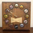 ANHEUSER BUSCH BUDWEISER BOTTLE CAP CLOCK NOT WORKING NEEDS REPAIR ONE OF A KIND