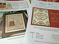 CS197, SALE,  Little House of Needle Works cross stitch chart, your choice,