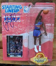 AUTOGRAPHED! Antonio McDyess Starting Lineup NBA Phoenix Suns 1997