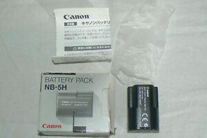 CANON NB-5H Batterie Battery AKKU Bateria originale origin  NEUF