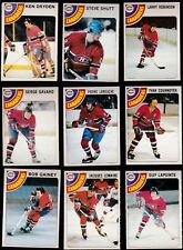 1978 O-PEE-CHEE Team Lot of 21 Montreal CANADIENS NM DRYDEN SHUTT ROBINSON OPC