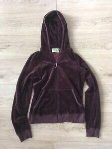 Juicy Couture velour hoodie Elena Gilbert Vampire Diaries fits like Small
