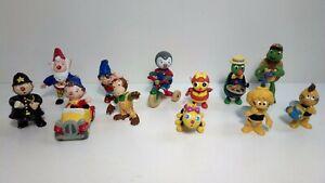 Lot de 12 Figurines BD / Dessins Animés enfant Plastoy / Schleich