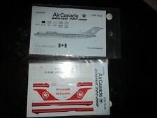 AHS DECALS 1/200th SCALE AIR CANADA ( canada) BOEING 727-200 decals # AHS 2016