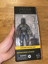+++ Hasbro Star Wars The Black Series MANDALORIAN LOYALIST Clone Wars *IN HAND*