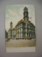 VINTAGE POSTCARD A VIEW OF THE POST OFFICE IN DALLAS TEXAS UNMAILED UNDIVIDED BK