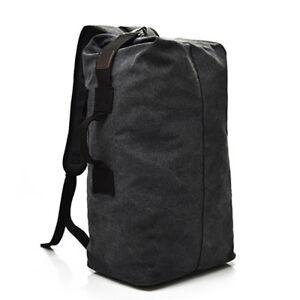 Camping Large Capacity Rucksack Shoulder Bag Hot Canvas Travel Backpack Outdoor