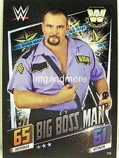Slam Attax then now Forever - #190 Big Boss Man