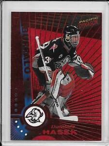 1997-98 Dominik Hasek Watson-Slammin /'tarjetas hockey sobre hielo