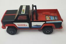 Vintage 1980's Tonka Pickup Truck Black And Red (64)