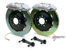 Brembo Rear GT BBK Brake 4pot Caliper Silver 380x32 Slot Rotor Hummer H2 08-09