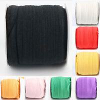 ALS_ 5 Yard Elastic Band DIY Stretch Sewing Applique Craft Accessory Band Latest