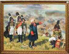 THE RUSSIAN COMMANDER MIKHAIL KUTUZOV ON BORODINO BATTLE 1812 BY PAVLUSENKO NATA