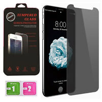 """For iPhone XS Max Privacy Anti-spy Screen Protector 6.5"""" Glass Case Friendly"""