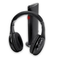For PC Laptop TV FM Radio MP3 5 in 1 Hi-Fi Wireless Headphones Earphone Headset