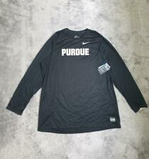 Men's Nike NCAA Purdue Boilermakers Elite Shooter Basketball Top Black 2XL 3XL