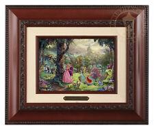 Thomas Kinkade Disney's Sleeping Beauty Framed Brushwork (Brandy Frame)