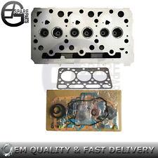 """""""D1703"""" Cylinder Head With valves & Full Gasket Set for Kubota Engine"""