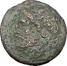 Syracuse Sicily 270BC King Hieron II  Ancient Greek Coin Poseidon Trident i45649