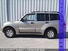 GTG 2000 - 2006 Mitsubishi Montero 8PC Chrome Stainless Steel Pillars Posts
