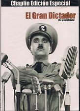The Great Dictator / El Gran Dictador DVD NEW Charles Chaplin Factory Sealed!