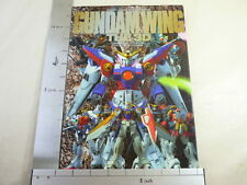 GUNDAM WING THE 3D Art Work Book 1996 Plastic Model Pictorial HJ*