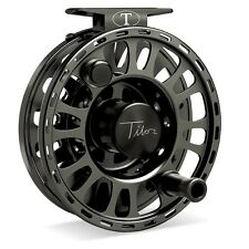 Tibor Signature Fly Reel, Size 9/10, Black, NEW!  FREE FLY LINE!
