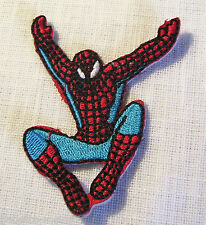ÉCUSSON PATCH BRODÉ THERMOCOLLANT SPIDERMAN N°2 -  5 x 6,5 cm