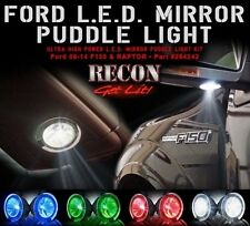Recon Ford 09-14 F150 & RAPTOR Ultra High Power LED Mirror / Puddle Light - RED