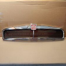 New Metal Chrome MGB Front Grille Assembly 1963-1974 Black Mesh Tasker Brand