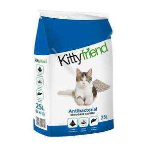 Sanicat Cat Litter Antibacterial Non Clumping 25Ltr -FREE NEXT DPD DAY DELIVERY-