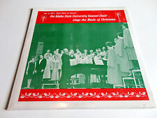 IDAHO STATE UNIVERSITY CHOIR sings the Music of Christmas (ISU 1966) LP - New