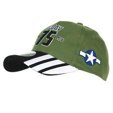 100/% COTONE Piatto Picco due toni Snapback Cappellino Baseball 5 Colori
