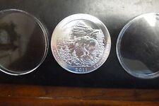 2011 5 oz .999 Silver ATB Coin Glacier, Montana - America the Beautiful -