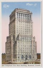 Canada postcard - Bell Telephone Co's New Building, Montreal (A114)