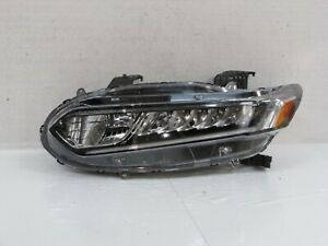 2018 2019 ACCORD SEDAN OEM LEFT HALOGEN HIGH BEAM LED LOW BEAM HEADLIGHT R3