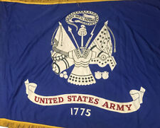 United States Army Us Military Vtg Rayon Flag Us 3x4 Field Fly Official