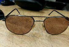 Giorgio Armani Sunglasses Unisex Metal Frame Gunmetal 56-18-140 w/Case & Cover