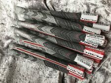 Golf Pride Multi Compound MCC Plus 4 ALIGN Standard Grips x13  Grey-Black-Red