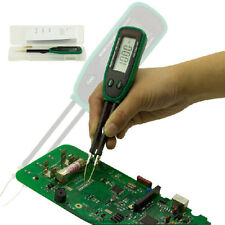 Mini Tweezers Smart SMD RC Resistance Capacitance Diode Tester MS8910 Auto Scan