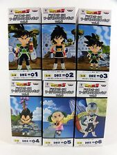 Dragon Ball Z WCF World Collectable Figure Vol.0 GOKU VEGETA BARDOCK BULMA NEW