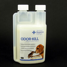 Odour Kill De-odoriser Concentrate Puppies,Dogs 250ml = 50L GET RID OF SMELLS