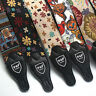 Embroidered Guitar Strap Belt Widen Electric Acoustic Guitar Bass Guitar BeltCH