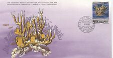 COLLECTION TIMBRES DE LA MER FONDATION COUSTEAU / FAUNE COQUILLAGE 1981