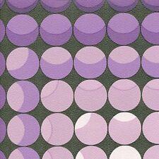 Vintage Original Purple Mod Geometric Wallpaper 1970s 1960s Fab