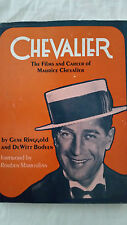 Chevalier: The Films & Career by Gene Ringgold & DeWitt Bodeen / HC, tons pics!