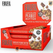 Fulfil Protein Bars 15 x 55g - Chocolate Peanut Butter *BB 22/07/2020*