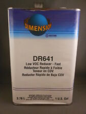 Western Dimension DR641 Low VOC Reducer FAST Automotive Paint 1 Gallon