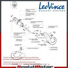 BETA RR 50 ENDURO 2012 12 LEOVINCE ECHAPPEMENT COMPLET X-FIGHT INOX 3259